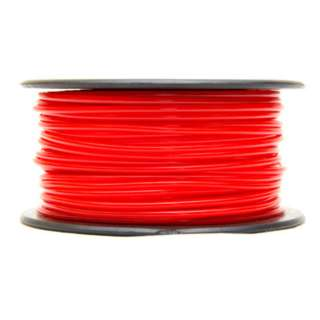 3D FILAMENT PLA RED 3MM 0.5KG 1.25IN CENTER HOLE