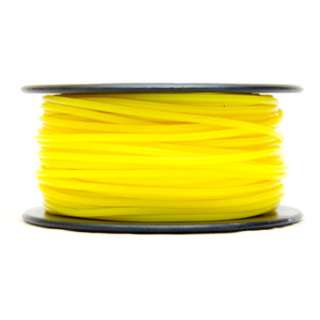 3D FILAMENT PLA YELLOW 1.75MM 0.5KG 1.25IN CENTER HOLE