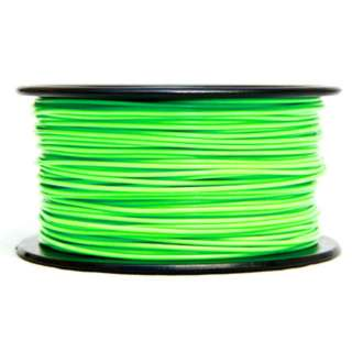 3D FILAMENT PLA GREEN 1.75MM 0.5KG 1.25IN CENTER HOLE