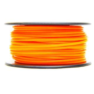 3D FILAMENT ABS ORANGE 1.75MM 0.5KG 1.25IN CENTER HOLE