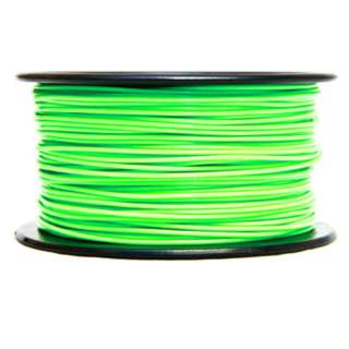 3D FILAMENT PLA GREEN 1.75MM (GLOW IN THE DARK) 1KG 2IN HOLE