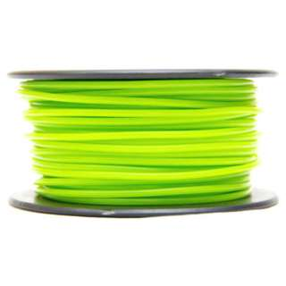 3D FILAMENT ABS LIME 3MM 0.5KG 1.25IN CENTER HOLE