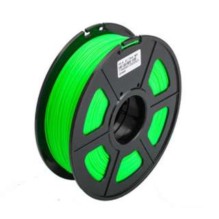 3D FILAMENT ABS GREEN 1.75MM 1KG 2IN CENTRE HOLE