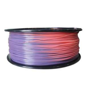 3D FILAMENT ABS 1.75MM PURPLE TO PINK 1KG 2IN CENTER