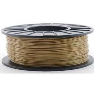 3D FILAMENT ABS GOLD 1.75MM 1KG 2IN CENTRE HOLE
