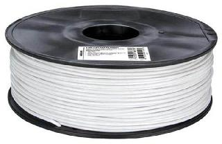 3D FILAMENT ABS WHITE 3MM 1KG 2IN CENTER HOLE