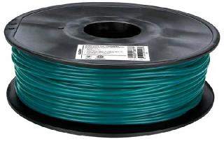3D FILAMENT PLA GREEN 3MM 1KG 2IN CENTER HOLE