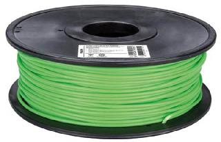 3D FILAMENT PLA PEA GRN 3MM 1KG 2IN CENTER HOLE