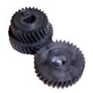 GEAR BEVELED SET LG DUAL & SINGL PLASTIC