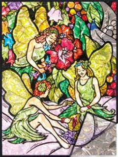 FLOWER FAIRIES-FOIL PAINTING BY NUMBERS