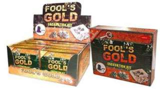 TREASURE FOOLS GOLD EXCAVATION KIT