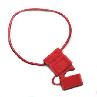 FUSE HOLDER AUTO IL ATO 16AWG 12IN WIRE WEATHERPROOF COVER