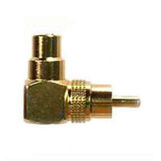 ADAPTER RCA PLUG-JACK RA GOLD 