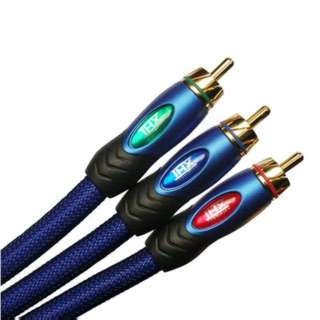 COMPONENT VIDEO CABLE 3M/M 8FT HIGH-PERFORMANCE