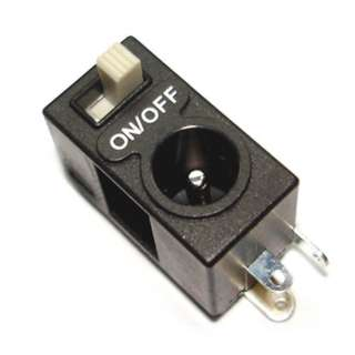 DC POWER JACK 2.1MM WITH SWITCH PCB MOUNT