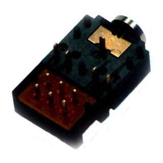 AUDIO JK 3.5 STEREO CLOSED CIRCUIT PCRA PLASTIC