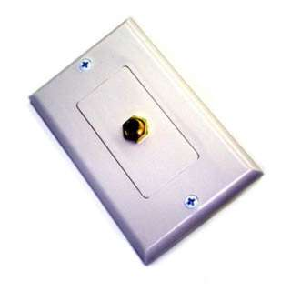WALL PLATE AUDIO STEREO