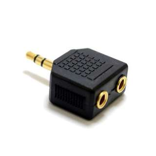AUDIO ADAPT 3.5STERPL-JKX2 GOLD 