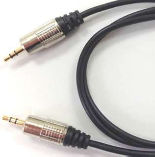 AUDIO CABLE 3.5 STEREO PL-PL 6FT 