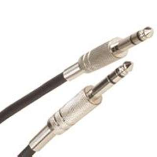 AUDIO CABLE 6.3STR PL-PL 25FT 