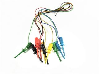 IC TEST LEAD SET 16IN 5 COLOURS GRABBER