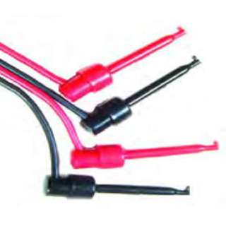 IC TEST LEAD SET 40IN 2 COLORS GRABBER