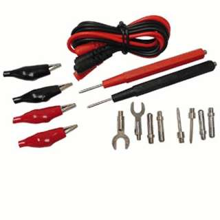 TEST LEAD SET W/ATTACHMENTS 