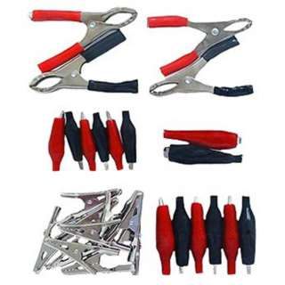 ALLIGATOR CLIP ASSORTMENT 28PCS/KIT