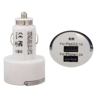 USB CAR CHARGER DUAL 5VDC@2.1A 5VDC@1A