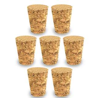 CORK STOPPER TAPERED 22X18X24MM #8 WIDTH