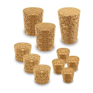 CORK STOPPER ASSORTED SIZES 10PCS/PACK
