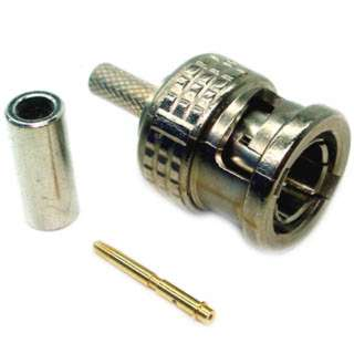 BNC PLUG CRIMP RG174 