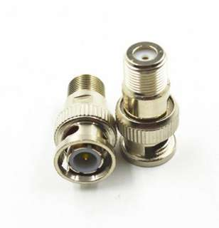 BNC ADAPTER PLUG-F JACK 
