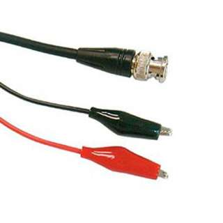 BNC CABLE RG58 PLUG-ALLIGATOR 3.5FT