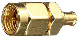 SMA ADAPTER MALE-MCX MALE 