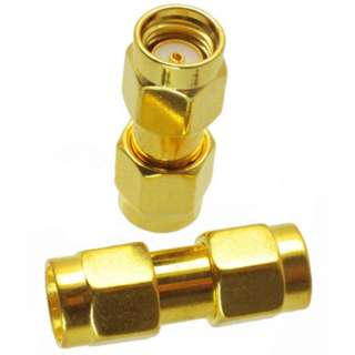 RPSMA MALE TO RPSMA MALE ADAPTER 