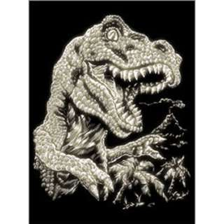 GLOW IN THE DARK ENGRAVE TYRANNO TYRANNOSAURUS