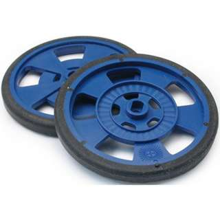 WHEEL PLASTIC 69MM DIA BLUE 7.62MM WIDE