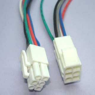 MOLEX CABLE ASSY 6P MALE/FEMALE 