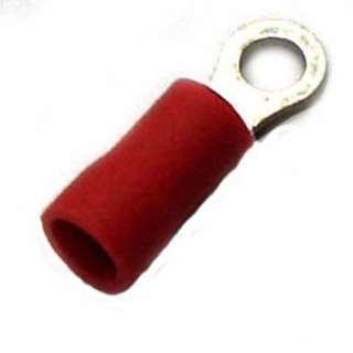 RING TERM RED #6 22-18AWG ID-3.7MM OD-5.5MM