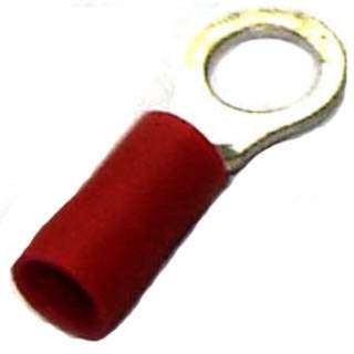 RING TERM RED #10 22-18AWG ID-5.3MM OD-8MM