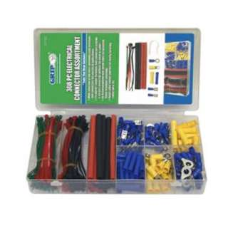 QUICK TERM ASSORTED WITH HEATSHRINK/CABLE TIES 308PCS/KIT