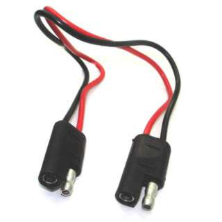 TRAILER CABLE 2P/18AWG MF-MF 12IN