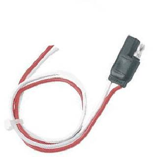 TRAILER CABLE 2P/18AWG MF-OPEN 13.5IN