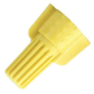 WIRE NUT WING 22-10AWG YELLOW 
