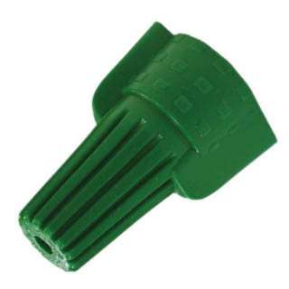 WIRE NUT WING 14-10AWG GREEN 