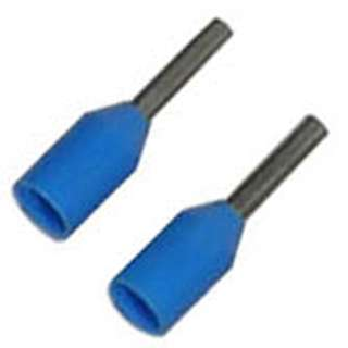 FERRULE 20AWG 8MM STEM BLUE 