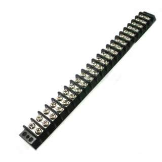 TERM BLOCK 22P FLUSH 2ROW #6-32 14-22AWG 10.5MM BARRIER DISTANCE
