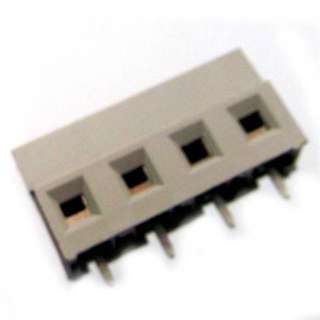TERM BLOCK 4P PCST 7.5MM 8.9MM WIDE GREY 12-30AWG 15A/300V