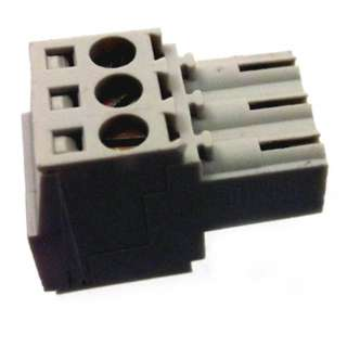 TERM BLOCK 3P FEM PLUG RA 3.5MM 22-14AWG 10A/300V 9.4MM WIDE
